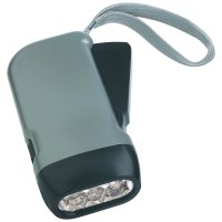 TORCIA IN PLASTICA CON 3 LED