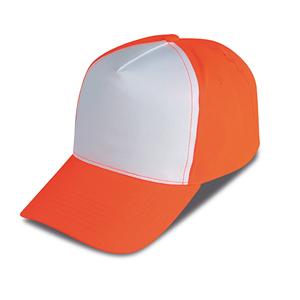 Cappellino 5 pannelli golf bicolore 4a2e0519221b