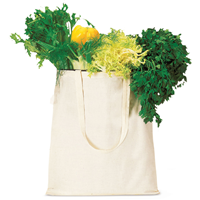BORSA SHOPPING IN COTONE NATURAL CON MANICI LUNGHI