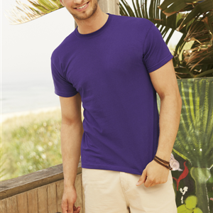 T-Shirt girocollo manica corta 145gr -  Fruit of the Loom